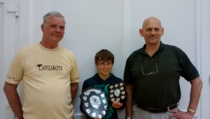 Harry -  winner of both Bandmaster's & Chairman's awards